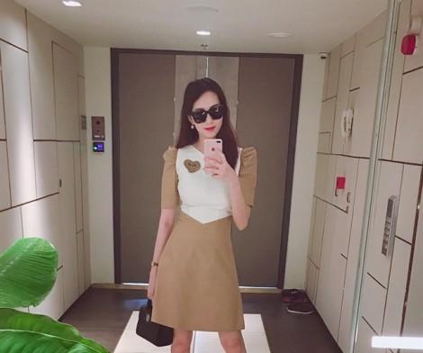 Bất ngờ với vóc dáng thon gọn sau sinh của Hoa hậu Đặng Thu Thảo