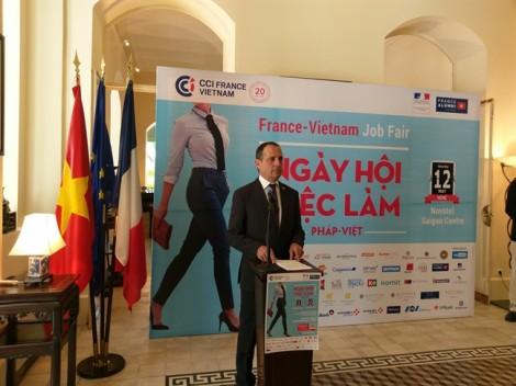 300 vị trí tuyển dụng tại Ngày hội Việc làm Pháp - Việt 2018
