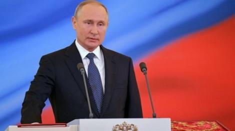 Vladimir Putin tuyên thệ nhậm chức Tổng thống Nga nhiệm kỳ thứ tư