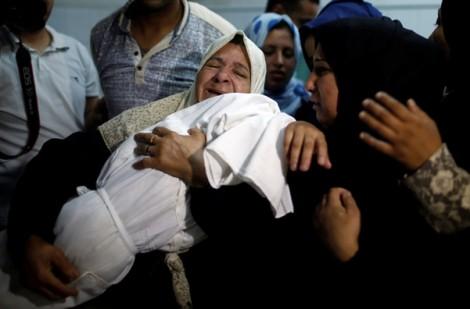 Bé gái 8 tháng tuổi Palestine thiệt mạng trong 'ngày đẫm máu' ở Gaza
