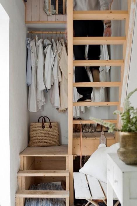 Giải pháp 'lưu trữ' quần áo sáng tạo thách thức mọi không gian nhỏ hẹp