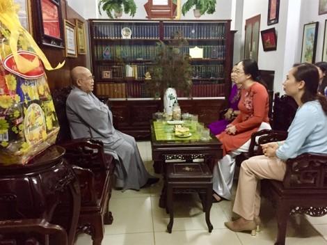 Hội LHPN TP.HCM chúc mừng Đại lễ Phật đản