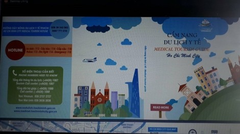 Công bố cẩm nang du lịch y tế song ngữ Anh - Việt