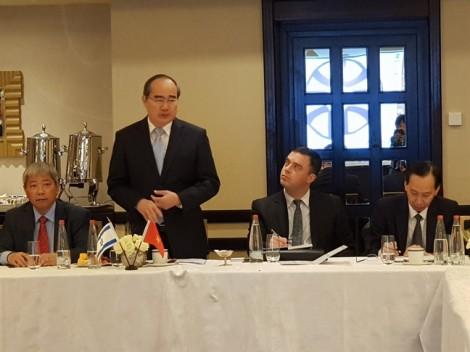 TP.HCM hy vọng sẽ có nhiều thỏa thuận chuyển giao công nghệ từ Israel