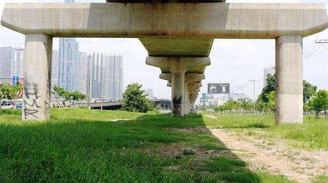 Metro Ben Thanh - Suoi Tien bi boi ban ky di