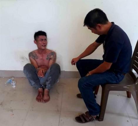 Bảo vệ công ty Cấp nước Thừa Thiên - Huế kể lại lúc tên ngáo đá lao vào cơ quan