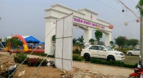 Long An: Đề nghị dừng thi công, chấm dứt giao dịch nhiều dự án bất động sản bán 'chui'