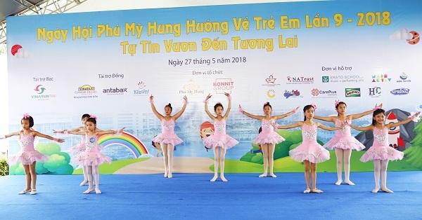 Phu My Hung tim kiem tai nang nhi 2018