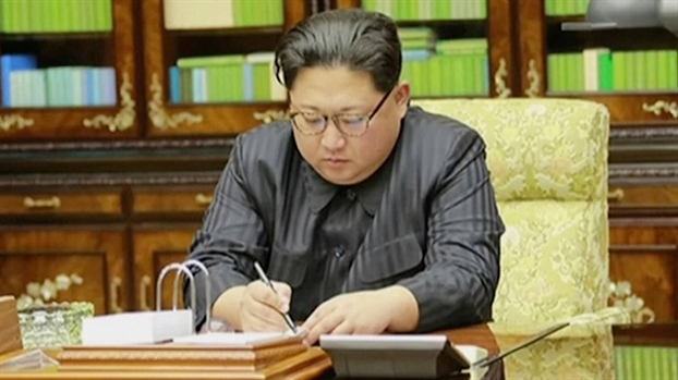 Lanh dao Trieu Tien Kim Jong Un so bi am sat tai hoi nghi o Singapore?
