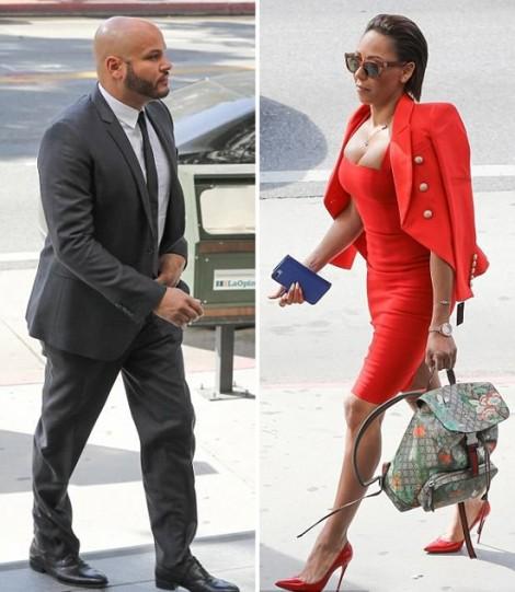Mel B bị cấm vào nhà tại Los Angeles giữa vụ kiện tụng căng thẳng với chồng cũ