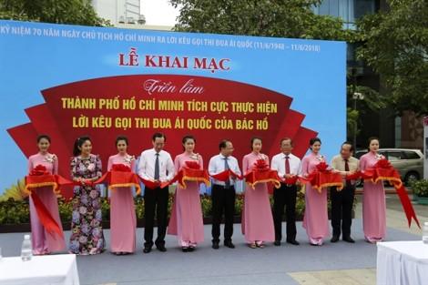 Khai mạc triển lãm 70 năm ngày chủ tịch Hồ Chí Minh ra lời kêu gọi thi đua ái quốc