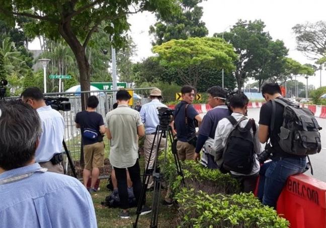 'Chuyen bay la' dua lanh dao Trieu Tien Kim Jong Un toi Singapore