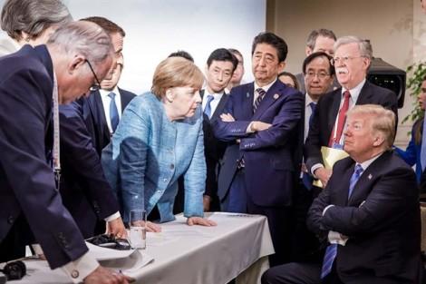 Bức ảnh nổi tiếng ở G7 nói lên điều gì?