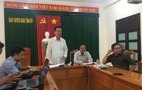Bình Thuận thông tin về vụ đối tượng kích động, đập phá trụ sở UBND tỉnh