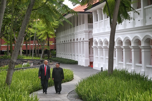 Cu chi bat ngo cua Tong thong Trump danh cho lanh dao Trieu Tien
