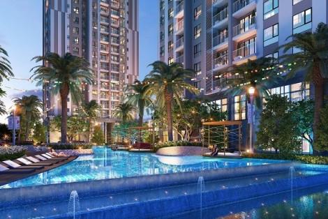 Gem Riverside - căn hộ resort nghỉ dưỡng phong cách 'vịnh Hạ Long' giữa lòng Sài Gòn