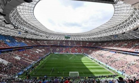 World Cup 2018 khai mạc rực rỡ tại sân vận động Luzhniki