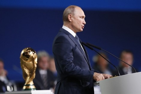 Tổng thống Putin và giấc mơ tuyệt vời mang tên World Cup