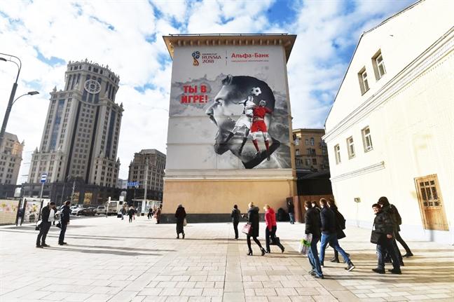 Chiem nguong bo graffiti danh rieng cho World Cup 2018