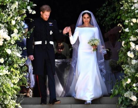 Công nương Meghan thổi bùng 'cơn sốt' váy cưới 2018