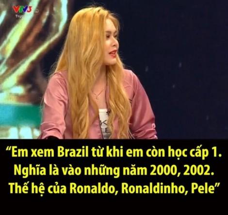 Nghệ sĩ Việt nghĩ gì về việc VTV mời hot girl bình luận World Cup 2018?