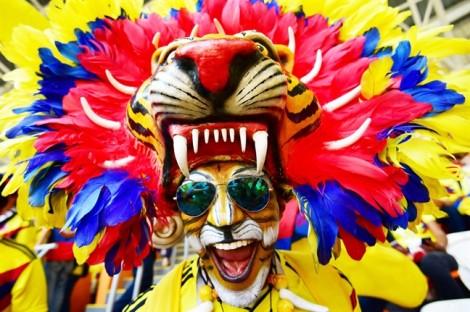 15 kiểu hóa trang 'rợn người' của người hâm mộ World Cup 2018