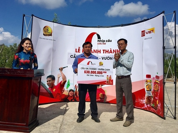 Tan Hiep Phat tiep tuc khanh thanh cau Dr Thanh – Vuon Chim cho nguoi dan Gia Rai (Bac Lieu)