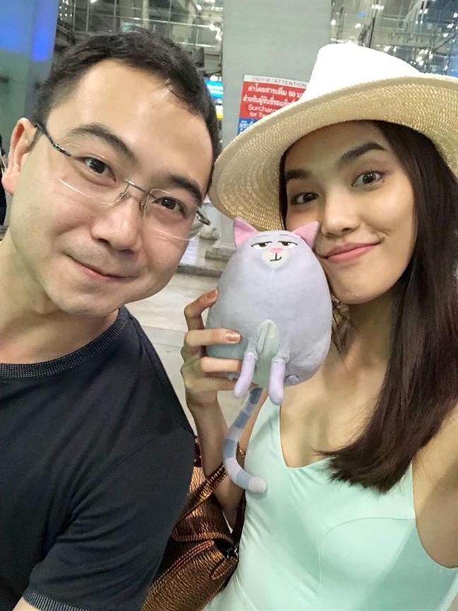 Lan Khue duoc ban trai dai gia cau hon