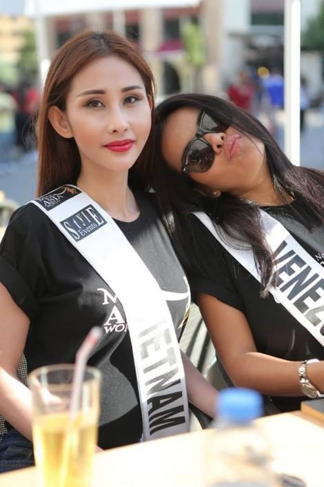 Áo dài của đại diện Việt Nam bị cắt nát trước thềm chung kết 'Miss Asia World 2018'