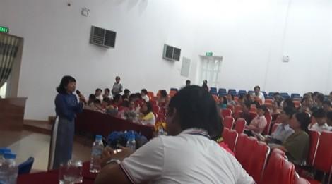 Quận Tân Phú: Tổ chức truyền thông về mất cân bằng giới tính khi sinh