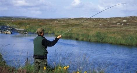 Vợ chỉ lo chồng câu con cá... 50 kg
