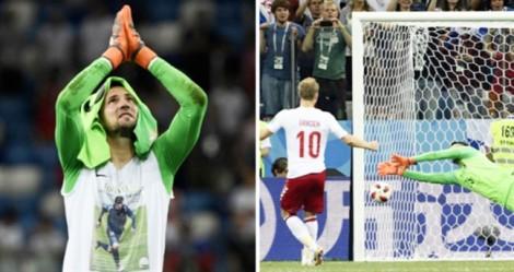Rơi nước mắt với cách thủ môn Croatia hướng về đồng đội quá cố