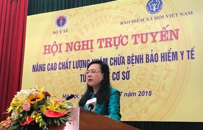 Chat luong kham chua benh tai tram y te chua dap ung yeu cau