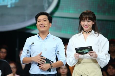 Nối gót Trấn Thành làm MC, Hari Won khiến bạn dẫn lo lắng