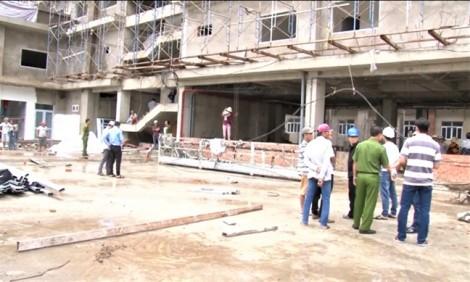 Sẩy chân rơi từ tầng 5 công trình, một công nhân tử vong