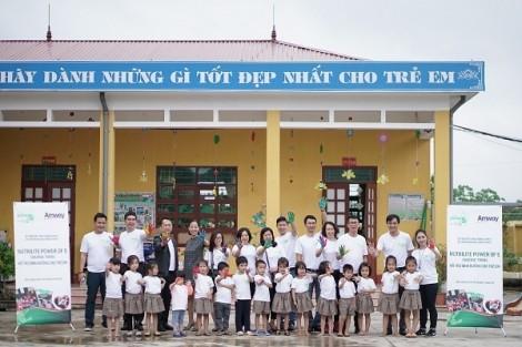 Amway Việt Nam tiếp tục phát hành báo cáo tổng kết trách nhiệm xã hội