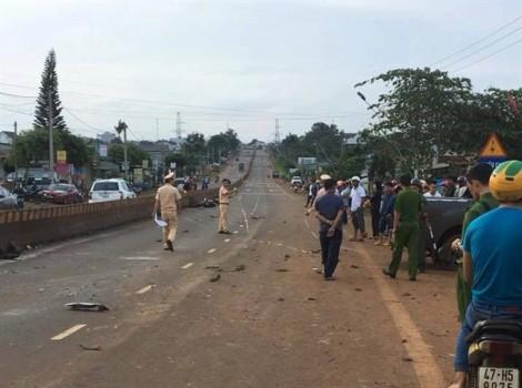 Tai nạn liên hoàn, 2 người thiệt mạng