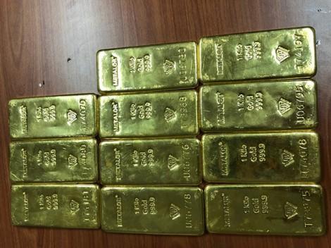 11kg vàng giấu tinh vi trong kiện hàng từ TP.HCM đi Đà Nẵng