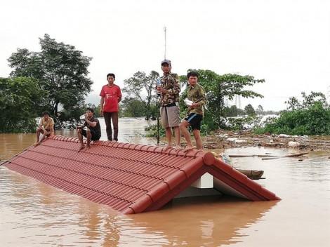 Vỡ đập thủy điện tại Lào: chưa xác định có nạn nhân người Việt hay không