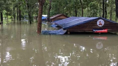 Vỡ đập thủy điện tại Lào: Hàng ngàn người Campuchia sơ tán