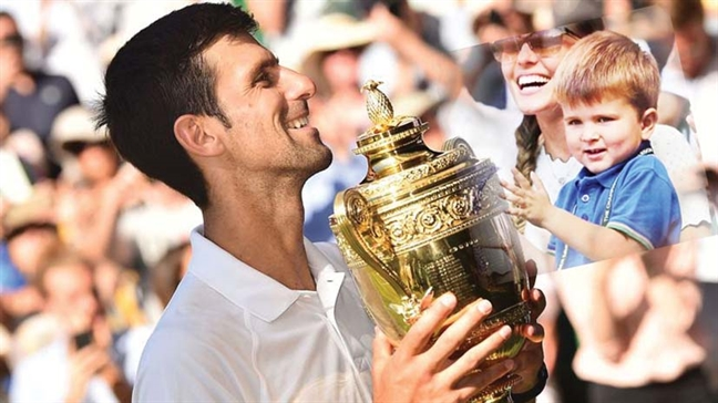 Novak Djokovic tro lai 'loi hai' hon nho lam cha