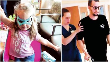 Con gái ba tuổi cứu cha thoát chết nhờ FaceTime