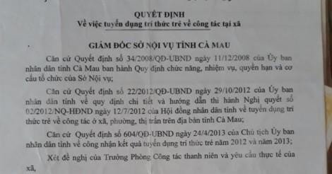 Vụ 44 trí thức trẻ ở Cà Mau chưa nhận được trợ cấp: Đơn vị sử dụng lao động không phạm luật?