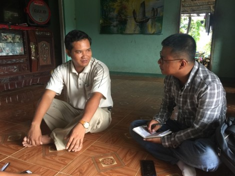 Dân sống trong vùng động đất Quảng Nam bình thản mà… lo