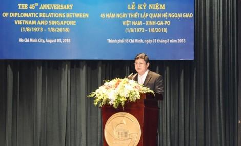 Singapore đầu tư hơn 10 tỷ USD vào TP.HCM