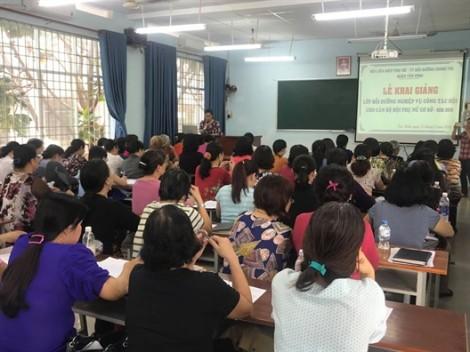 Quận Tân Bình: 150 cán bộ Hội hoàn thành lớp bồi dưỡng nghiệp vụ
