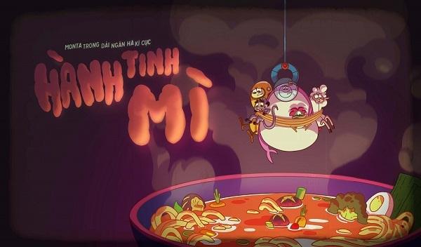 Vintata cong chieu series hoat hinh 'Monta trong dai ngan ha ky cuc'
