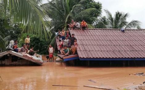 Vẫn còn 100 người mất tích sau sự cố vỡ đập thủy điện tại Lào