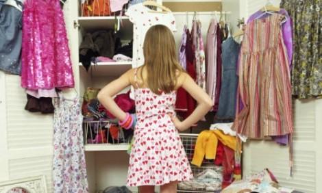 'Hôm nay tôi không có gì để mặc'