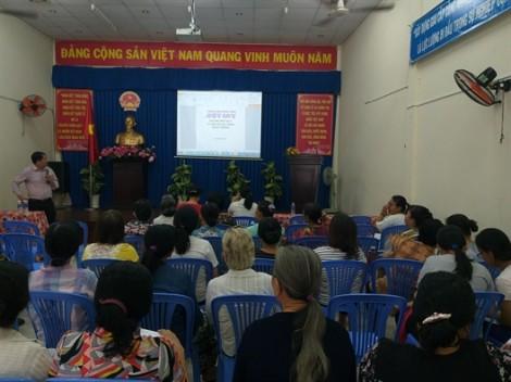 Quận 11: Giúp phụ nữ kỹ năng phòng ngừa đột quỵ não